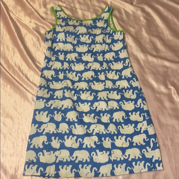 Lilly Pulitzer Dresses & Skirts - Rare Lilly Pulitzer elephant shift dress